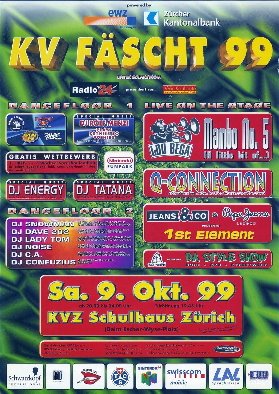 KV Fäscht | KVZ Schulhaus (ZH)