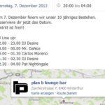 10 Jahre Plan B mit DJ Pat Nightingale | Plan B Winterthur (ZH)> Samstag 07.12.2016