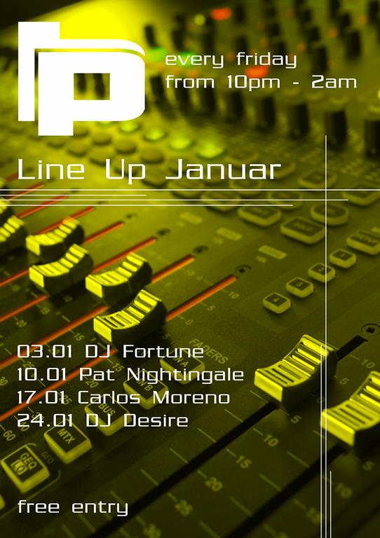 Line Up Januar 2014_ Plan B