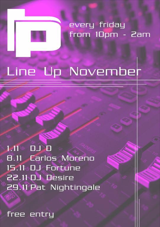 Line Up November 2013_ Plan B