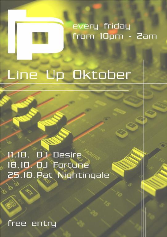 Line Up Oktober 2013_ Plan B