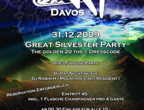 Great Silvester Party | Mountain`s Akt Davos (GR)