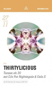 Thirtylicious | Salzhaus Winterthur (ZH)
