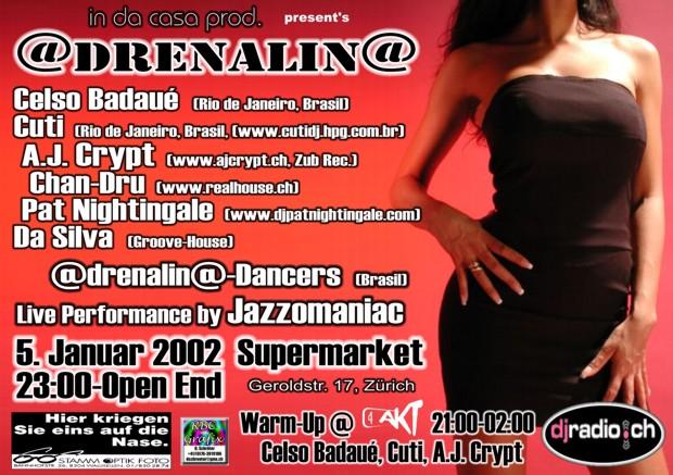 Adrenalina | Next Club Wallisellen (ZH)