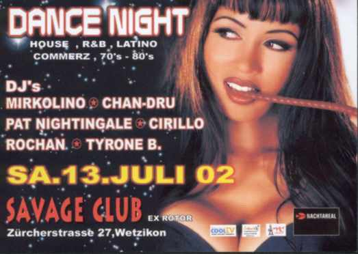 dance night savage club_13.7.2002