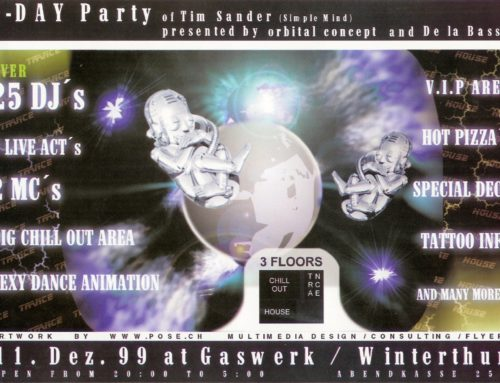 B-Day Party | Gaswerk Winterthur (ZH)