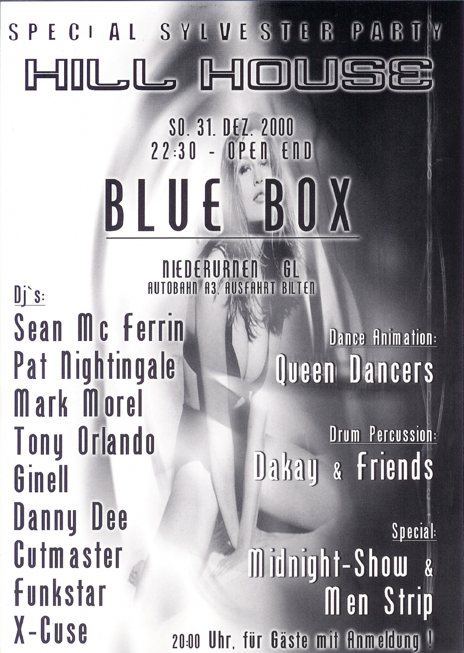 Special Silvester Party | Blue Box Niederurnen (GL)