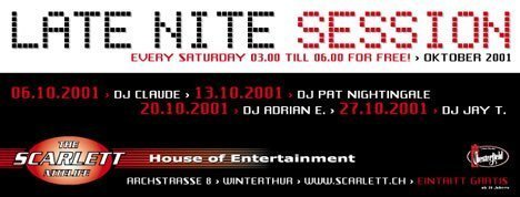 Late Night Session | Scarlett Winterthur (ZH)