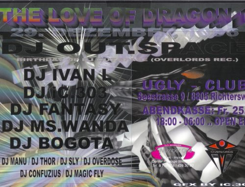 The Love of Dragon | Ugly Club Richterswil