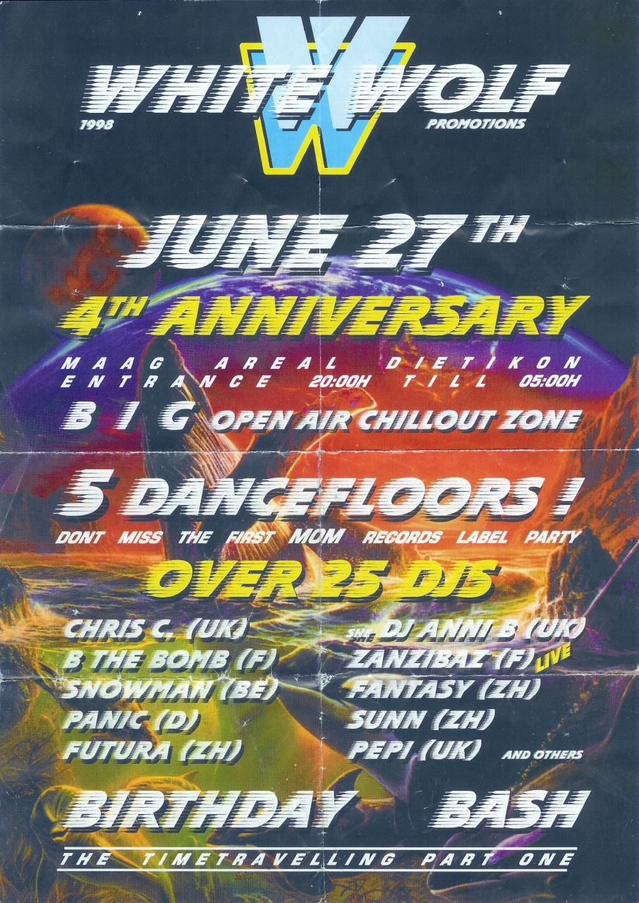 White Wolf 4TH Anniversary   Maag Areal Dietikon (ZH)