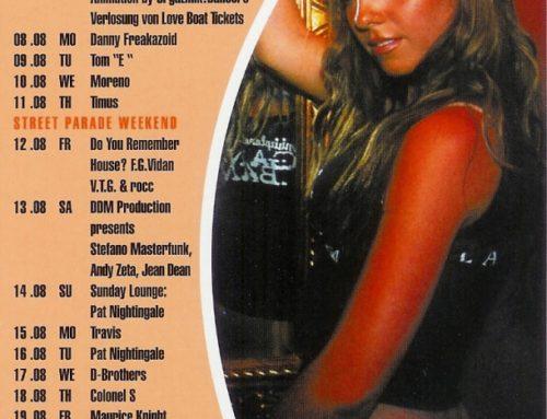 Monatsprogramm August 2005 | 4 Akt (ZH)