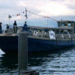 Sunset Boat mit Pat Nightingale   Zürichsee > Samstag 10.07.2004