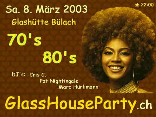 70`s & 80`s | Glasshütte (Bülach, ZH)