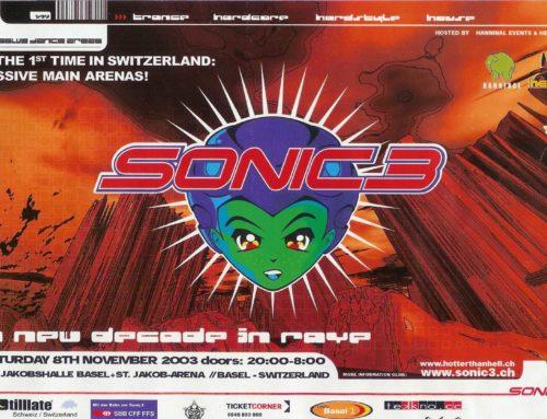 Sonic 3 | ST. Jakobshalle Basel