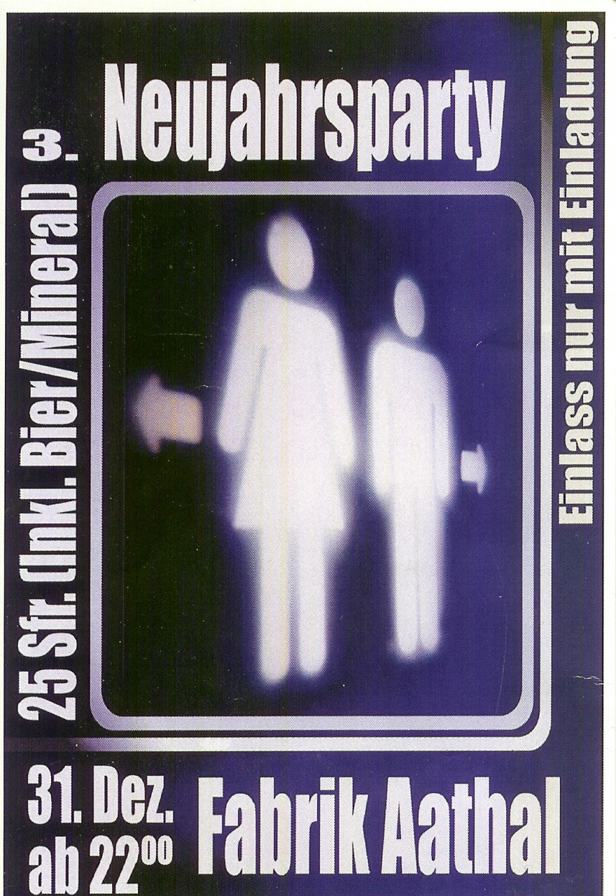 3. Neujahrsparty mit Pat Nightingale | Fabrik Aathal (ZH) > Montag 31.12.2001