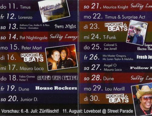 Monatsprogramm Januar&Februar 2007 | 4 Akt (ZH)