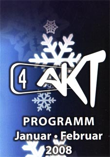 Monatsprogramm Januar | 4 Akt (ZH)
