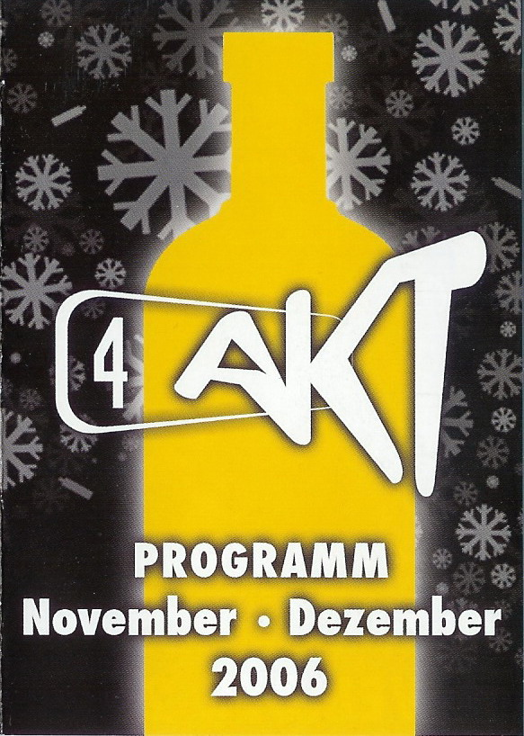 Monatsprogramm Dezember 2006   4 Akt (ZH)