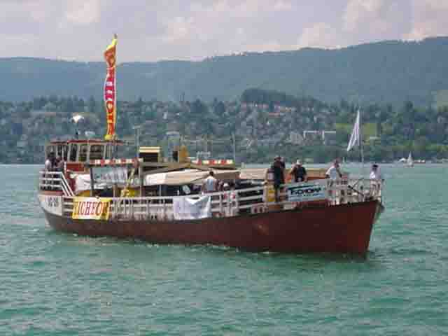 Loveboat, Streetparade 11.08.2001