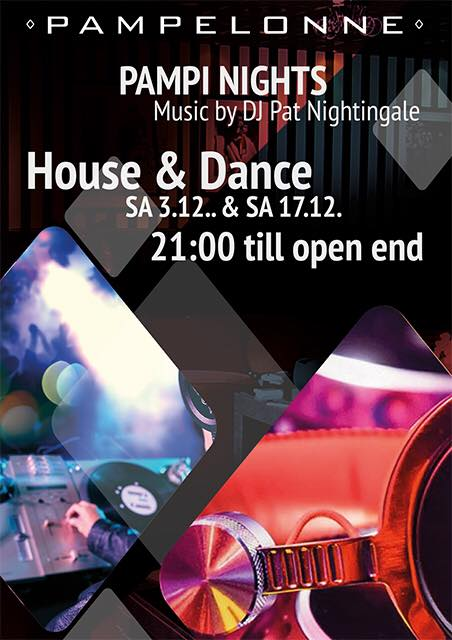 House&Dance Night mit Dj Pat Nightingale   Pampelonne (ZH)