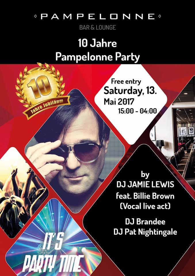 10 Jahre Pampelonne Party mit Dj Pat Nightingale | Pampelonne (ZH)