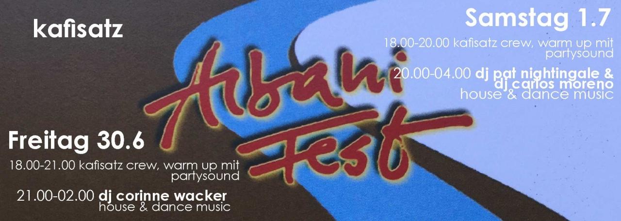 Albanifest | Kafisatz Winterthur (ZH)-1.7.17