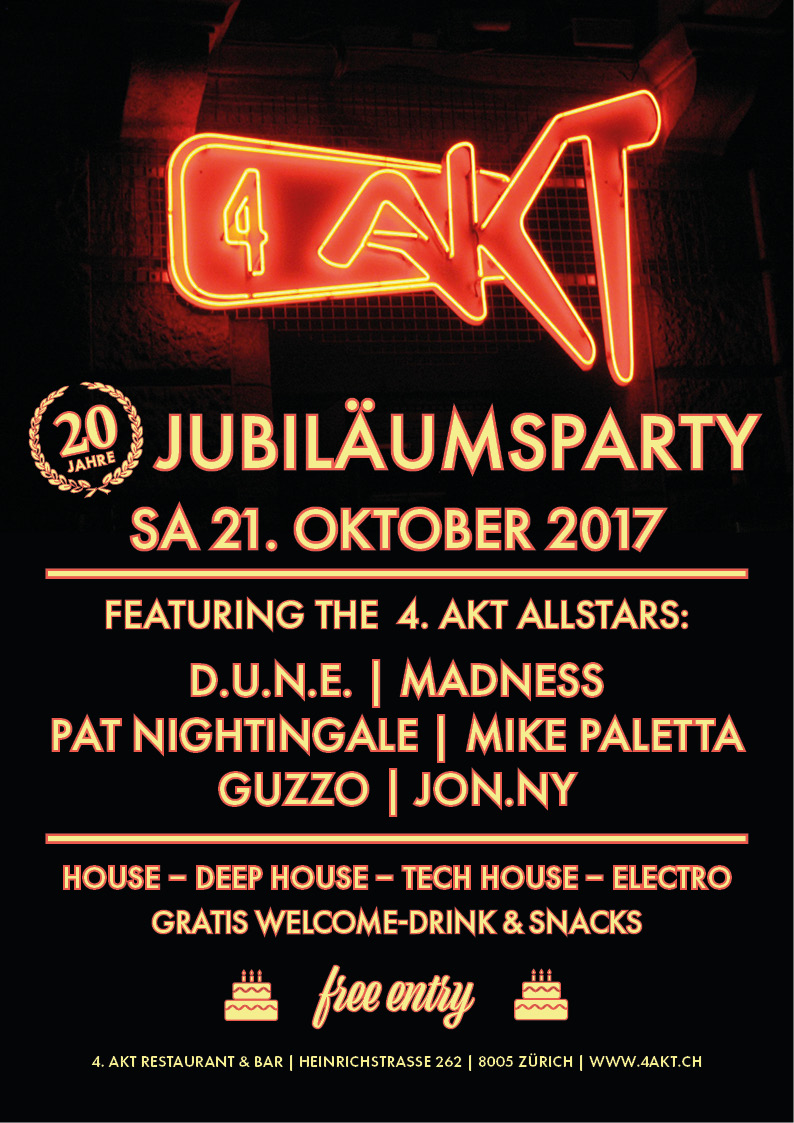 Jubiläums Party 20 Jahr 4 Akt_21.10.17