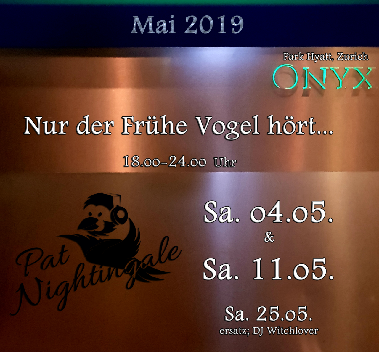 ONYX Flyer Mai 19